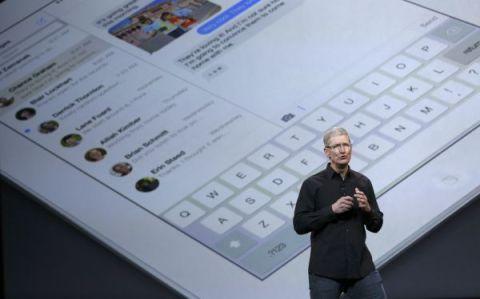 La presentación de la nueva iPad Air de Apple. (Reuters)