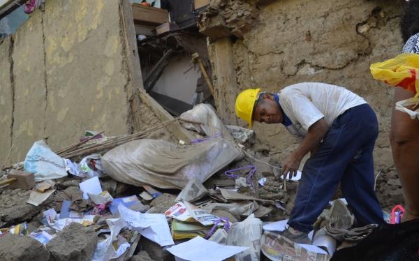 Lluvias en Ayacucho: derrumbe de vivienda dejó dos muertos
