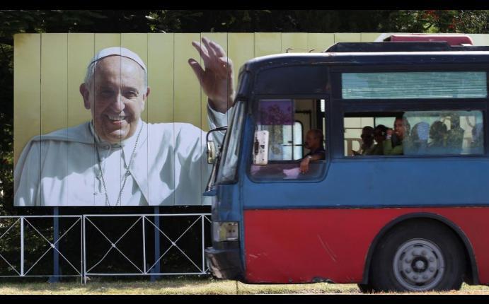 Cuba se prepara para histórica visita de papa Francisco | FOTOS
