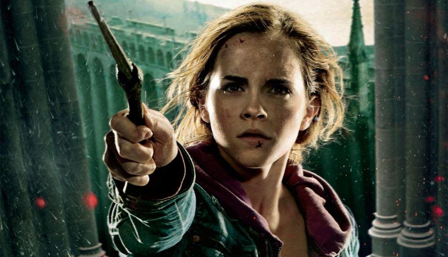 Emma Watson como Hermione Granger (2001-2011)
