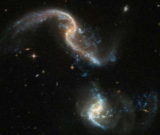 Este Fenomeno No Es Raro En El Universo Pero Las Imagenes Que Ha Dejado Son