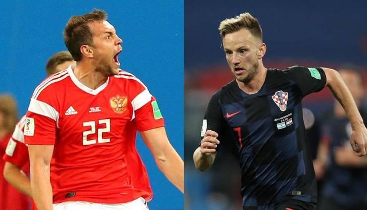 Resultado de imagen para croacia a semifinales rusia 2018