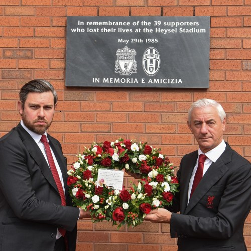 Liverpool pays tribute to the 39 football fans who on this day, 36 years ago died in Heysel stadium