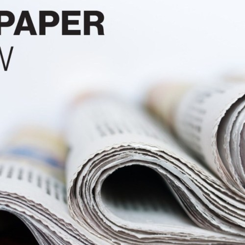 Newspapers' Review – Wednesday 30th May 2018