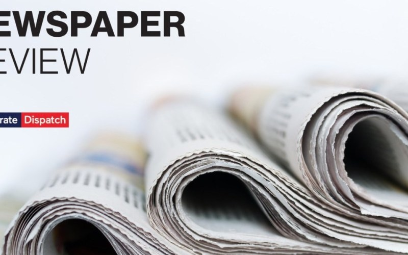 Newspapers' Review – Thursday 31st May 2018