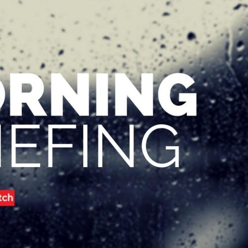 Morning Briefing – Sunday 20th May 2018
