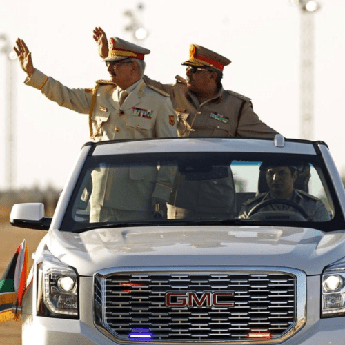 Self-Styled Libyan National Army seizes most of Derna