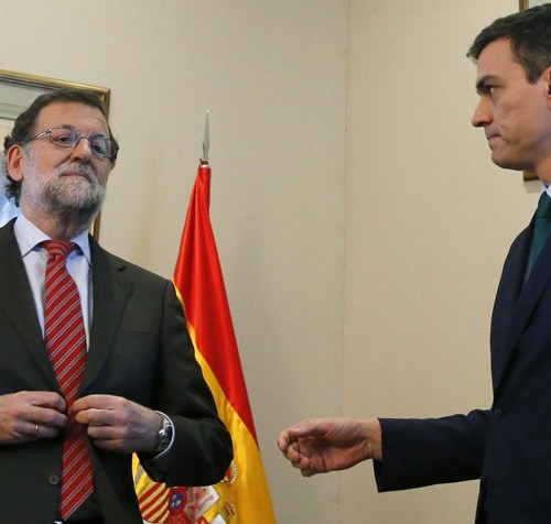 Mariano Rajoy loses no-confidence vote in Spain. He will be replaced by Pedro Sanchez
