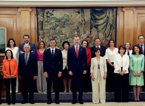 New Spanish Cabinet sworn in