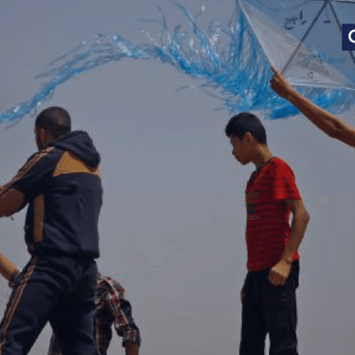Airstrike targets car of Gaza balloon and kite launch 'leader'