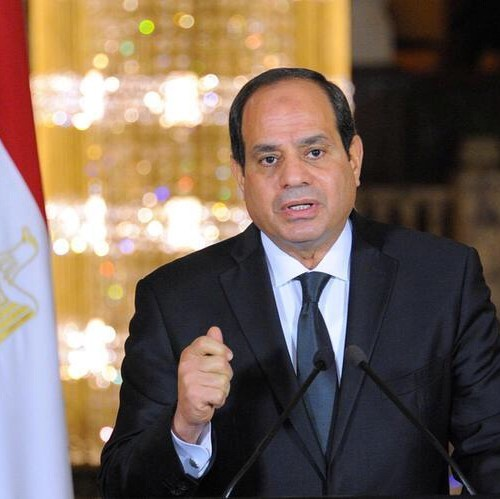 al-Sisi sworn in for a second term as Egypt's president