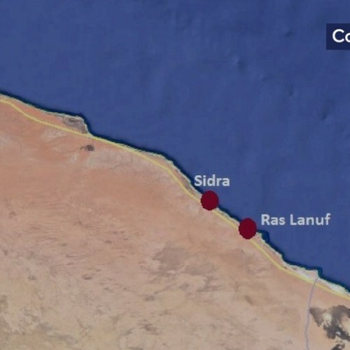 Libya's NOC declares force majeure on Ras Lanuf and Sidra oil terminals