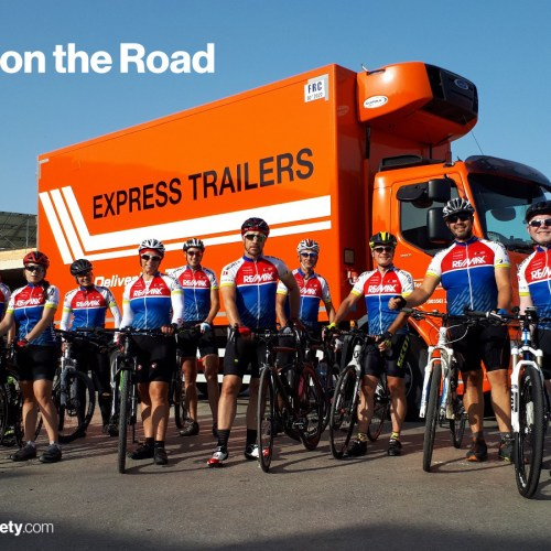 Express Trailers To Support Alive2018 Cycling Charity