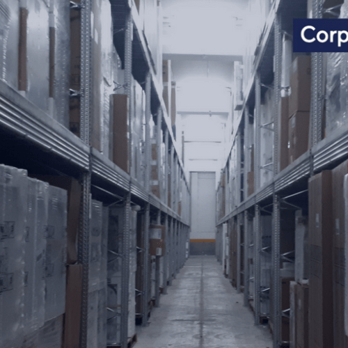 Corporate News: Final works on Express Trailers's new central warehousing facilities
