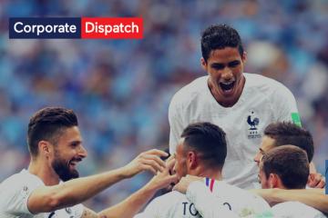 World Cup – France vs Uruguay