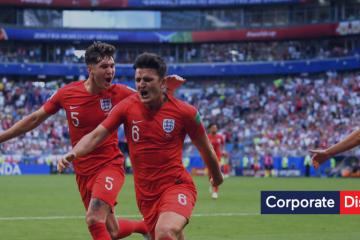 World Cup England vs Sweden