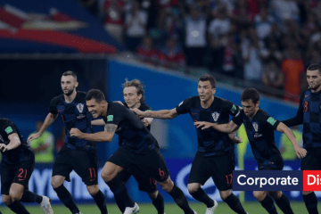 World Cup Russia vs Croatia