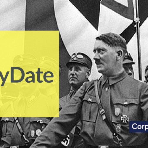 On this day, 1931 37.2% of Germans voted for Hitler's NSDAP