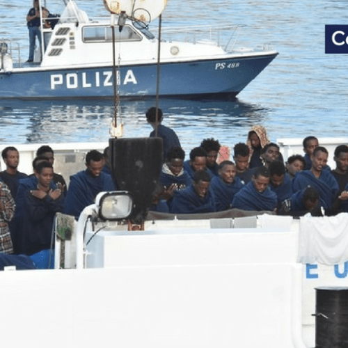 100 migrants rescued by Maltese army patrol boat as 177 remain onboard Diciotti in Sicily as Salvini insists in defying Transport Minister, Speaker of Parliament concerns and Guarantor of Human right pleas