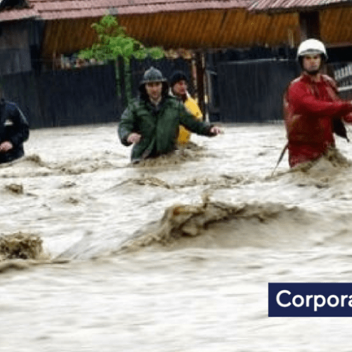 Floods in Romania leave one dead and several people temporarily evacuated