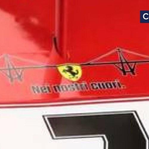 Ferrari's tribute to Genoa victims