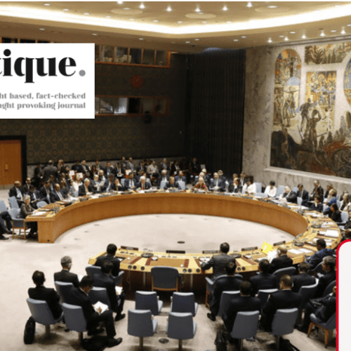 UN Must Reflect Changing World Order (FPJ)