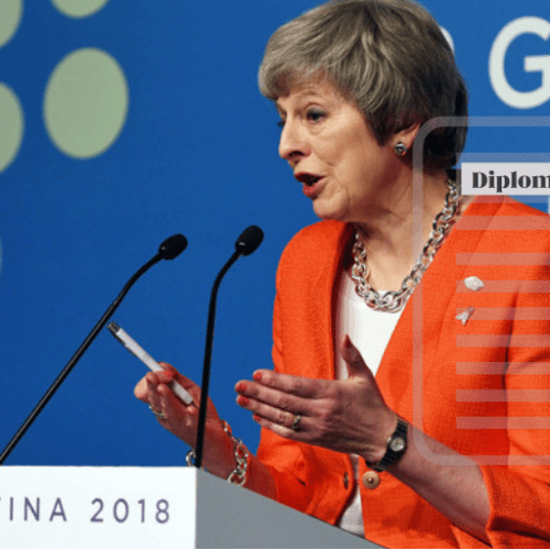 I will be the Prime Minister who will take Britain out of the EU – Theresa May at G20