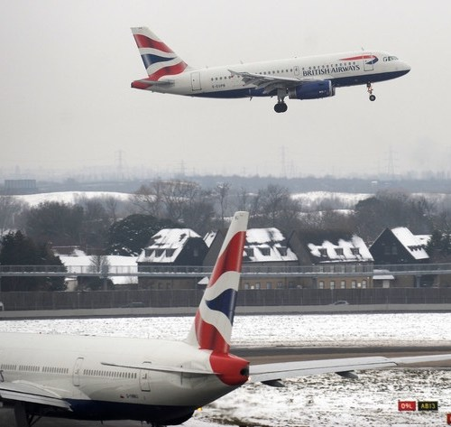Adverse weather conditions expected to effect Heathrow flights – British Airways
