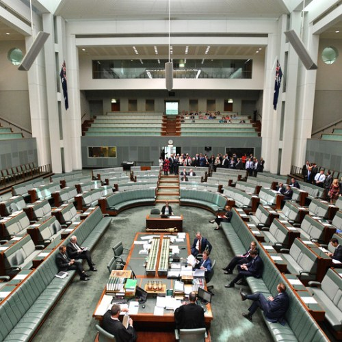 Australia's government suffers confidence as its defeated on legislation in Parliament