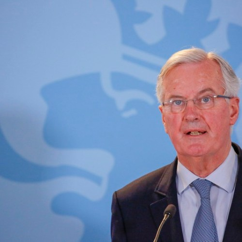 Barnier says that Theresa May should endorse Labour's proposal of a permanent customs union