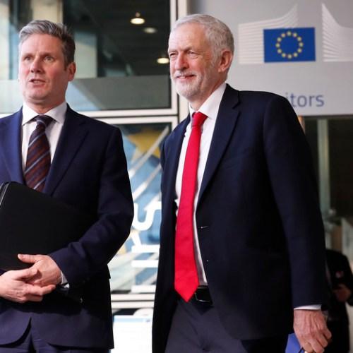 Corbyn meets Barnier