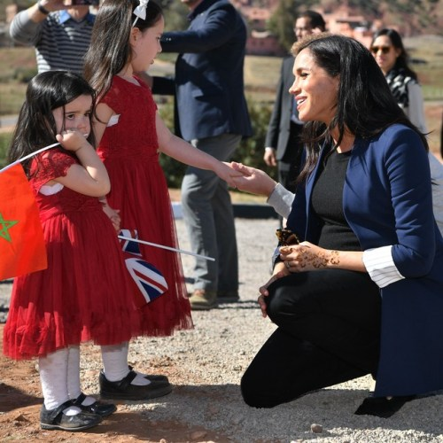 Duke and Duchess of Sussex start three day visit in Morocco