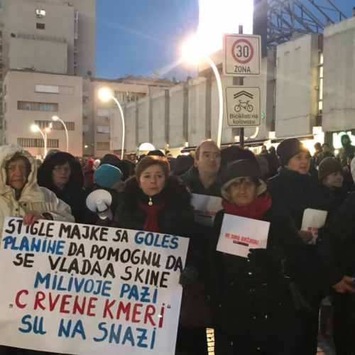 Over 10,000 protest to end Montenegrin's President 30-year rule