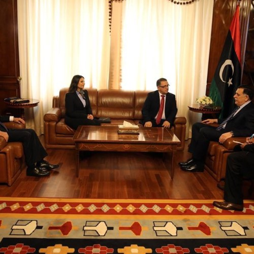 Malta's new ambassador to Libya presents his credentials  to al Serraj
