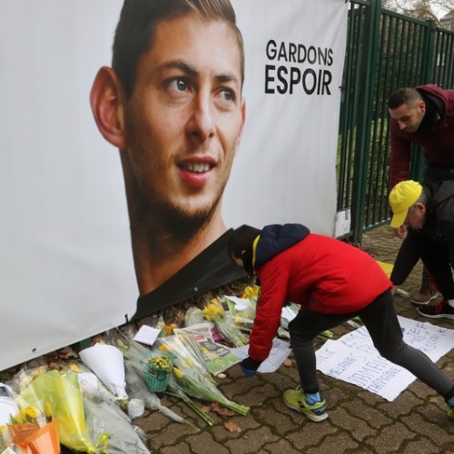 Body recovered from plane wreckage identified as that of Emiliano Sala