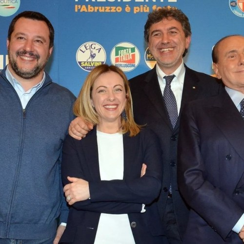 Early results show victory for right wing coalition (Lega/Fratelli d'Italia and Forza Italia) as Movimento 5 Stelle plunges in Abruzzo local elections