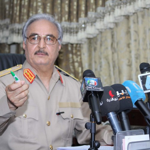 Haftar shows no will to negotiate end to fighting in Libya