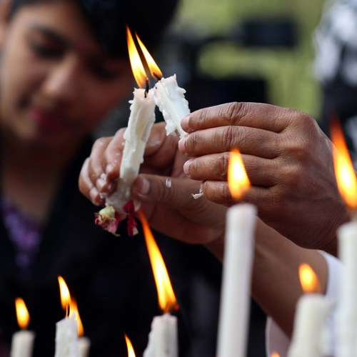 Photo Story – Pakistani Christians mourning Muslims killed in Christchurch