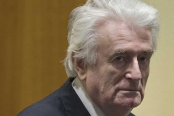 Bosnian Serb wartime leader Karadzic to serve jail term in UK