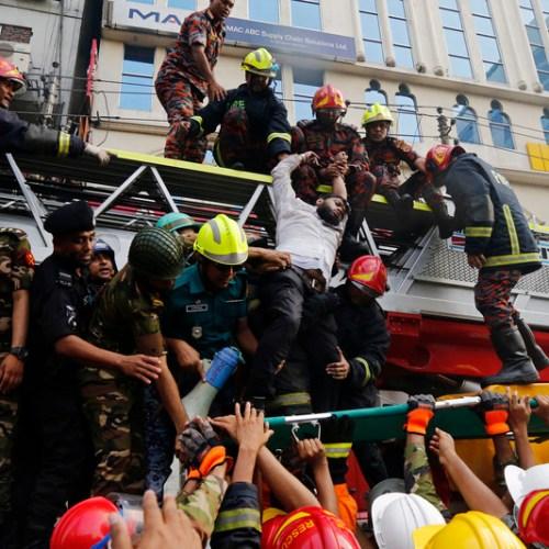 Six die in high-rise building in Bangladesh
