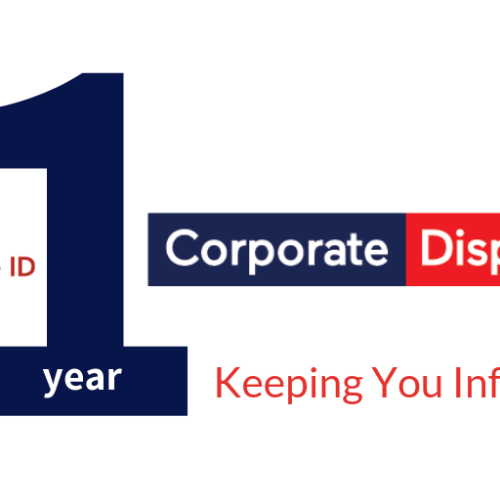 The First Year of Corporate Dispatch