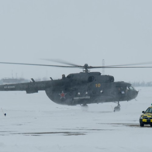 Kazakh military helicopter crashes with 13 people on board