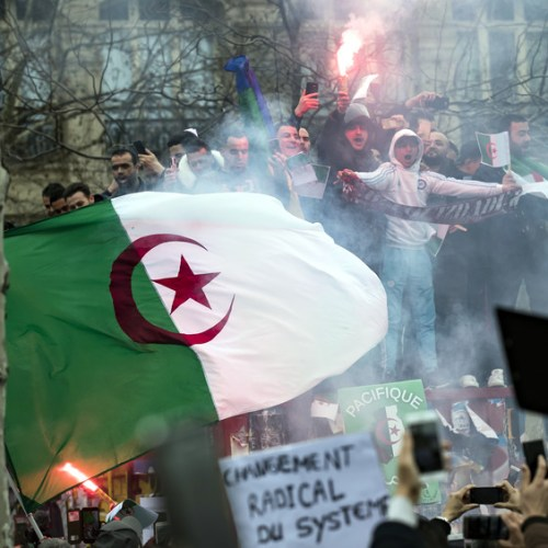 Algeria's ruling FLN party backs protesters