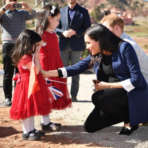 """Duchess of Sussex speaks of the feeling of her baby showing """"embryonic kicking of feminism"""""""