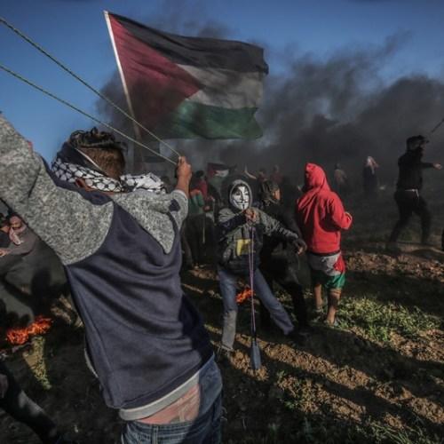 Fresh clashes on Gaza border