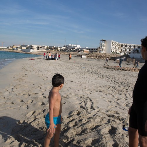 Reports of dead children washed up on Libya beach