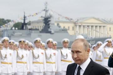 Putin says Western military backing of Ukraine threatens Russia