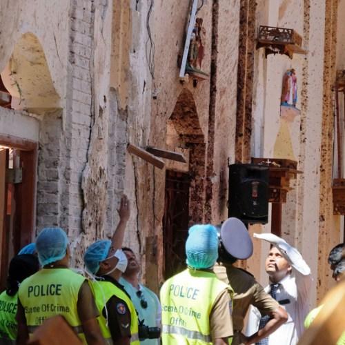 The Sri Lanka explosions in photos