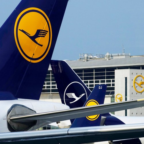 Lufthansa issued profit warning resulting from rising fuel costs, excess seat capacity