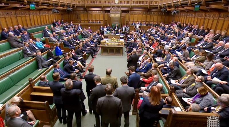 MPs vote against blocking no-deal Brexit